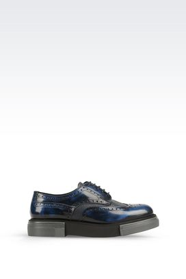 Armani Lace-up shoes Men derby in brushed calfskin