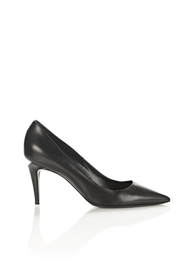ALEXANDER WANG Heels Women TRISTA MID HEEL PUMP WITH RHODIUM