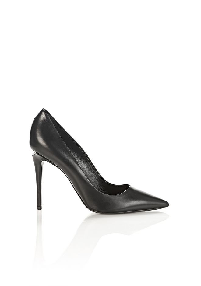 ALEXANDER WANG Heels TIA HIGH HEEL PUMP WITH RHODIUM