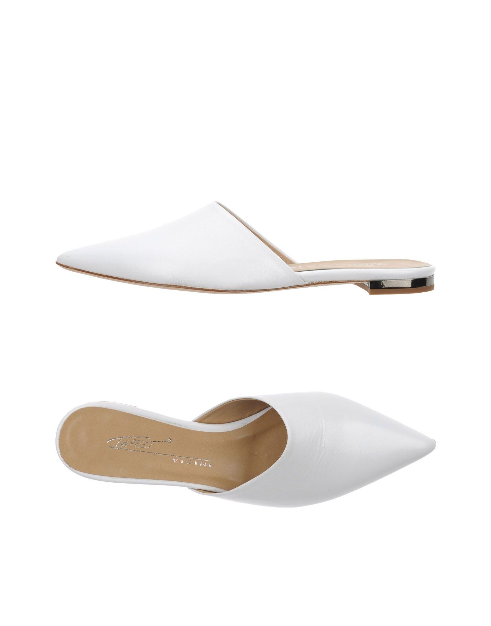 TAPEET Damen Mules & Clogs Farbe Weiß Größe 9