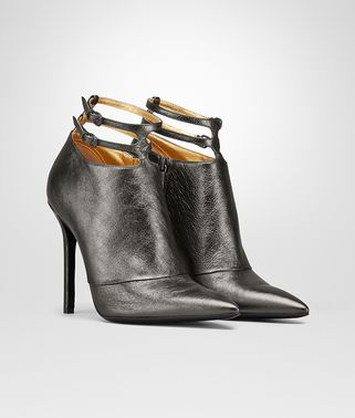 TIPPIE BOTTINES EN VEAU ARGENTO ANTIQUE