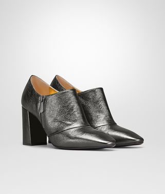 CHERBOURG BOTTINES EN VEAU ARGENTO ANTIQUE