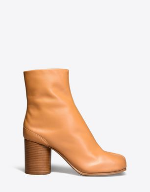 Brushed calfskin 'Tabi' boots