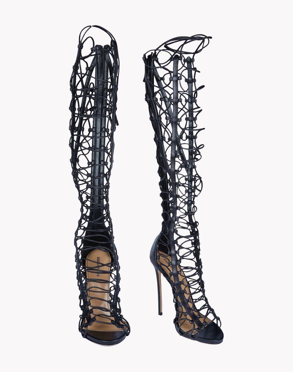 arashi sandal boots shoes Woman Dsquared2