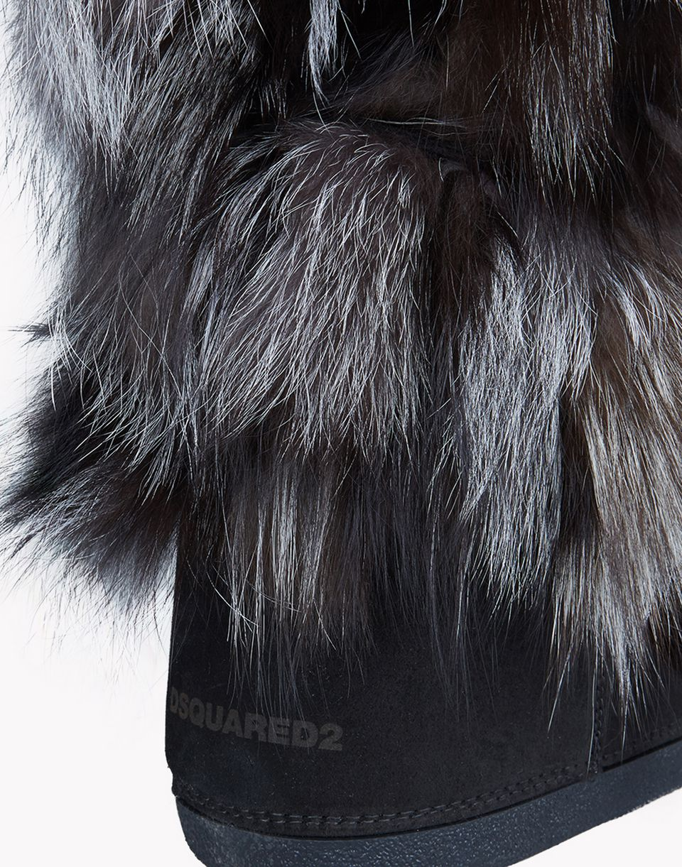 fur snow boots shoes Woman Dsquared2