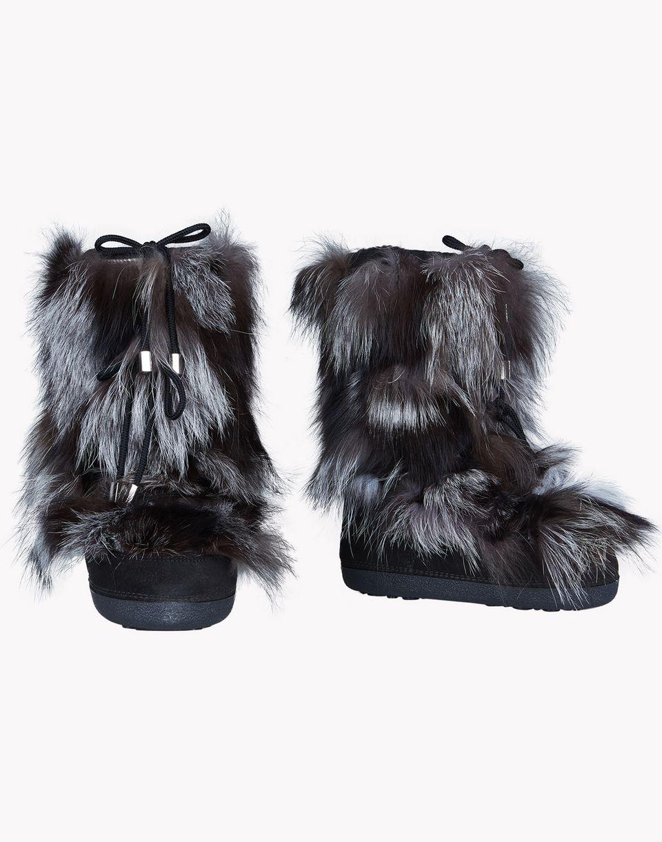 fur snow boots schuhe Damen Dsquared2