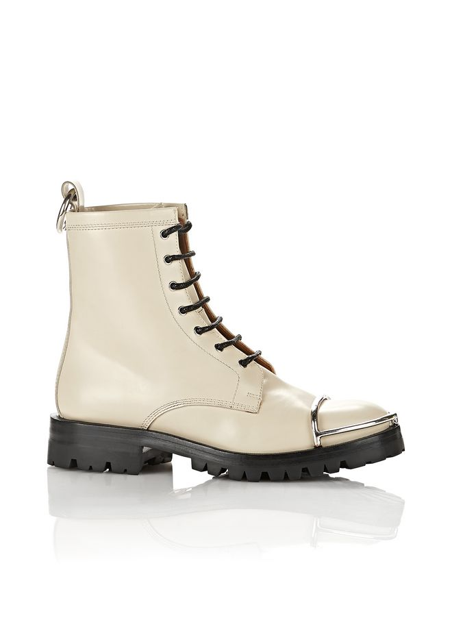 ALEXANDER WANG Boots Women LYNDON BOOT WITH METAL TOE CAP