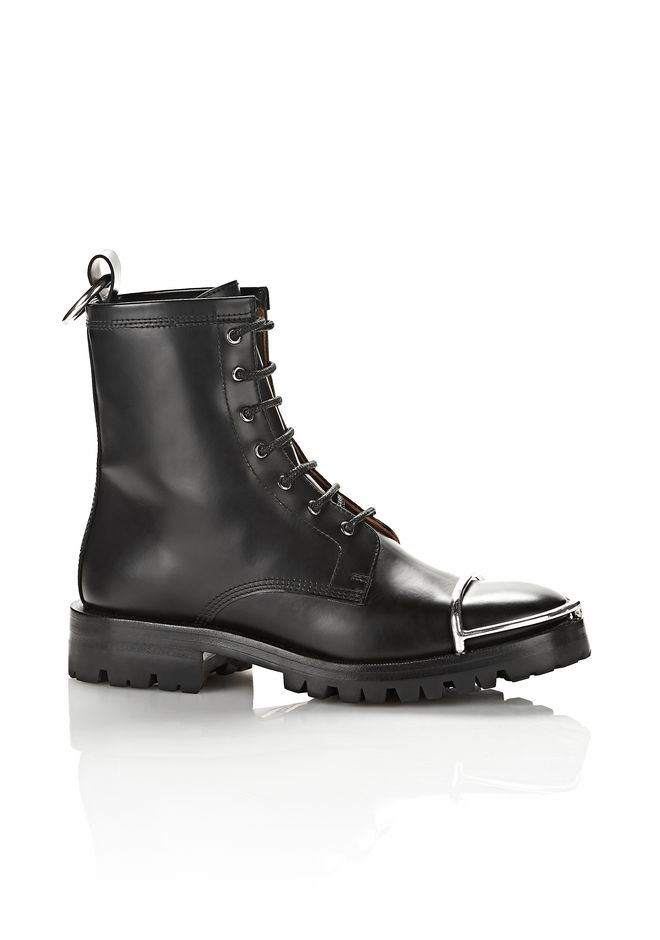 ALEXANDER WANG new-arrivals-shoes-woman LYNDON BOOT WITH METAL TOE CAP