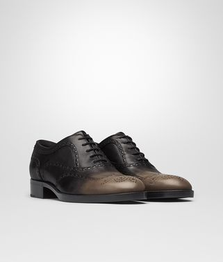 NOTTINGHAM LACE UP IN TOFFEE NERO CALF