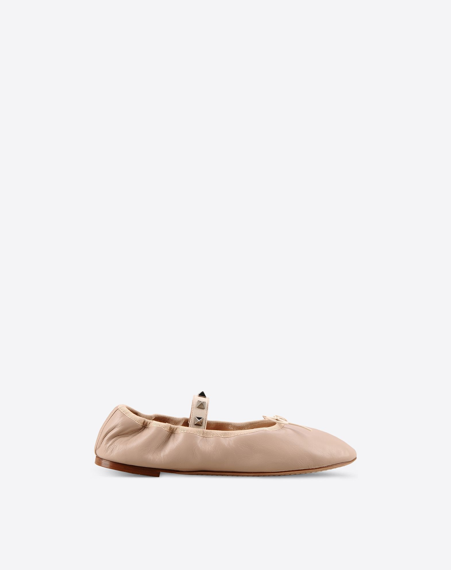 valentino garavani rockstud ballet ballerina ballerinas for women valentino online boutique. Black Bedroom Furniture Sets. Home Design Ideas
