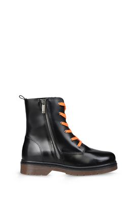 Armani Ankle boots Men combat boot with zip