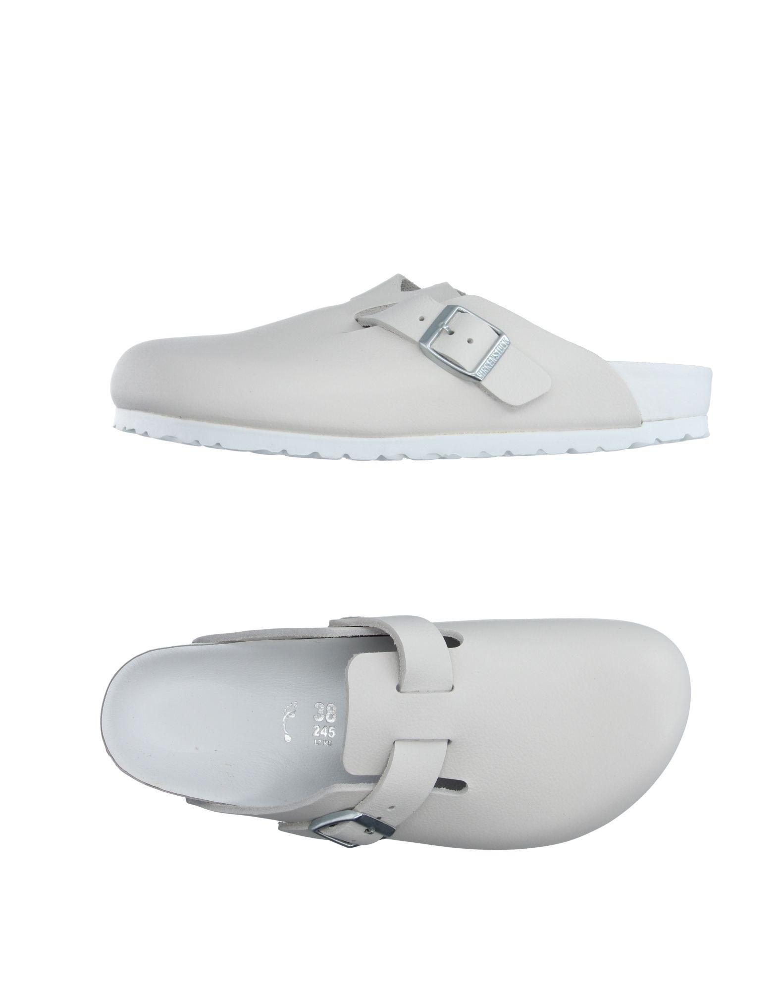 BIRKENSTOCK Damen Mules & Clogs Farbe Weiß Größe 9