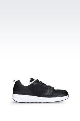 Armani Sneakers Men sneaker in leather