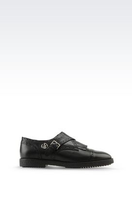 Armani Lace-up shoes Women monkstrap in leather