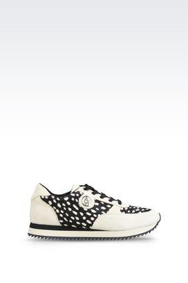 Armani Sneakers Für sie laufschuhe mit ponyfell-optik