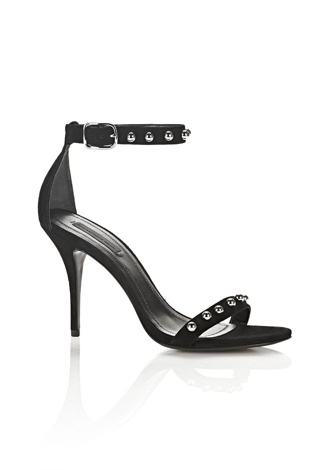 ALEXANDER WANG new-arrivals-shoes-woman STUDDED SUEDE ANTONIA SANDAL