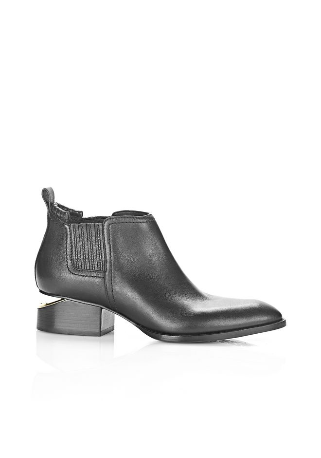ALEXANDER WANG Boots Women KORI OXFORD WITH YELLOW GOLD