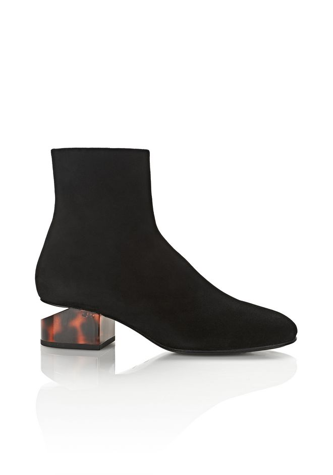 ALEXANDER WANG Boots Women KELLY SUEDE BOOT WITH TORTOISE