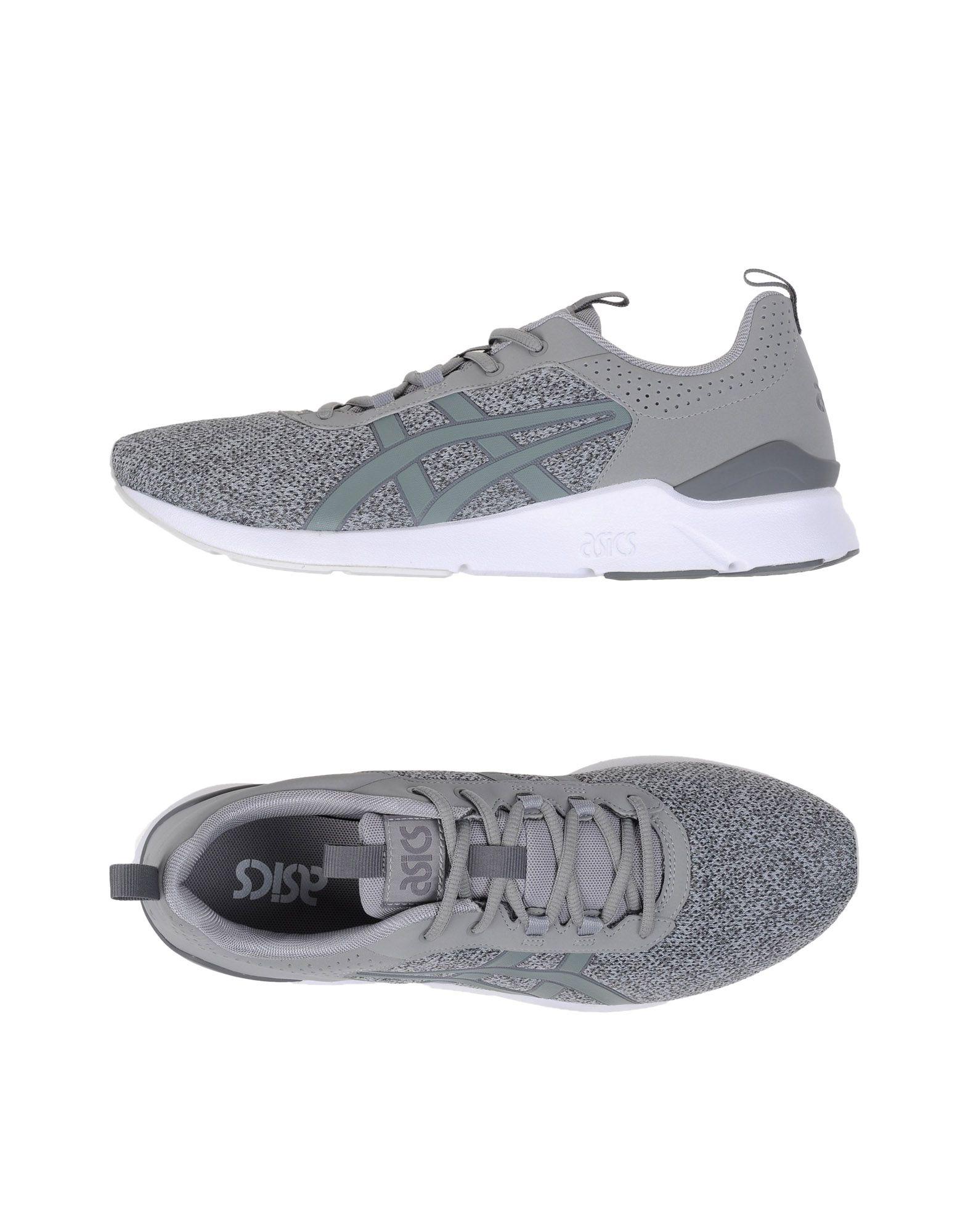 ASICS TIGER Herren Low Sneakers & Tennisschuhe Farbe Grau Größe 14