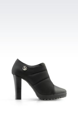 Armani Ankle boots Women half boot in nylon and leather