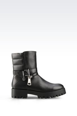 Armani Ankle boots Women leather ankle boot