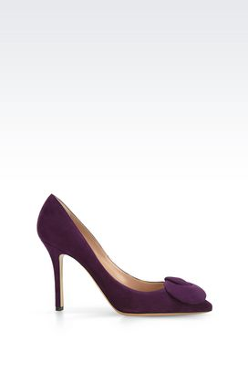Armani Heeled pumps Women suede court shoe