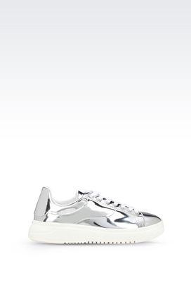 Armani Sneakers Men two-colour sneaker