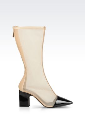 Armani High-heeled boots Women shoes