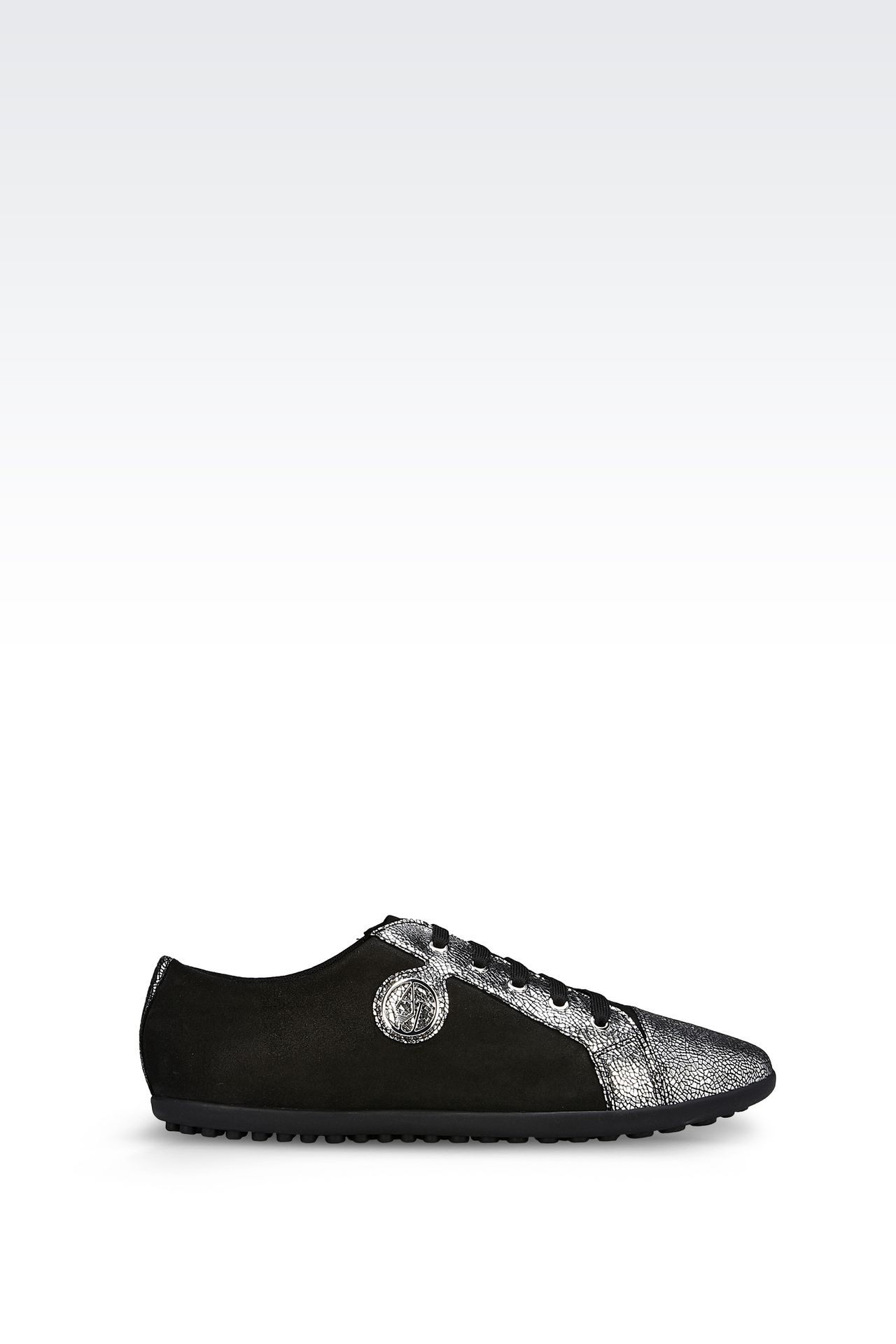 armani jeans women leather sneaker goatskin. Black Bedroom Furniture Sets. Home Design Ideas