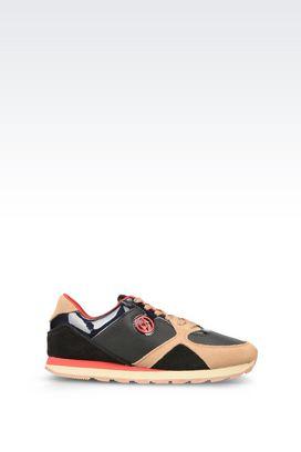 Armani Sneakers Für sie laufschuhe aus leder