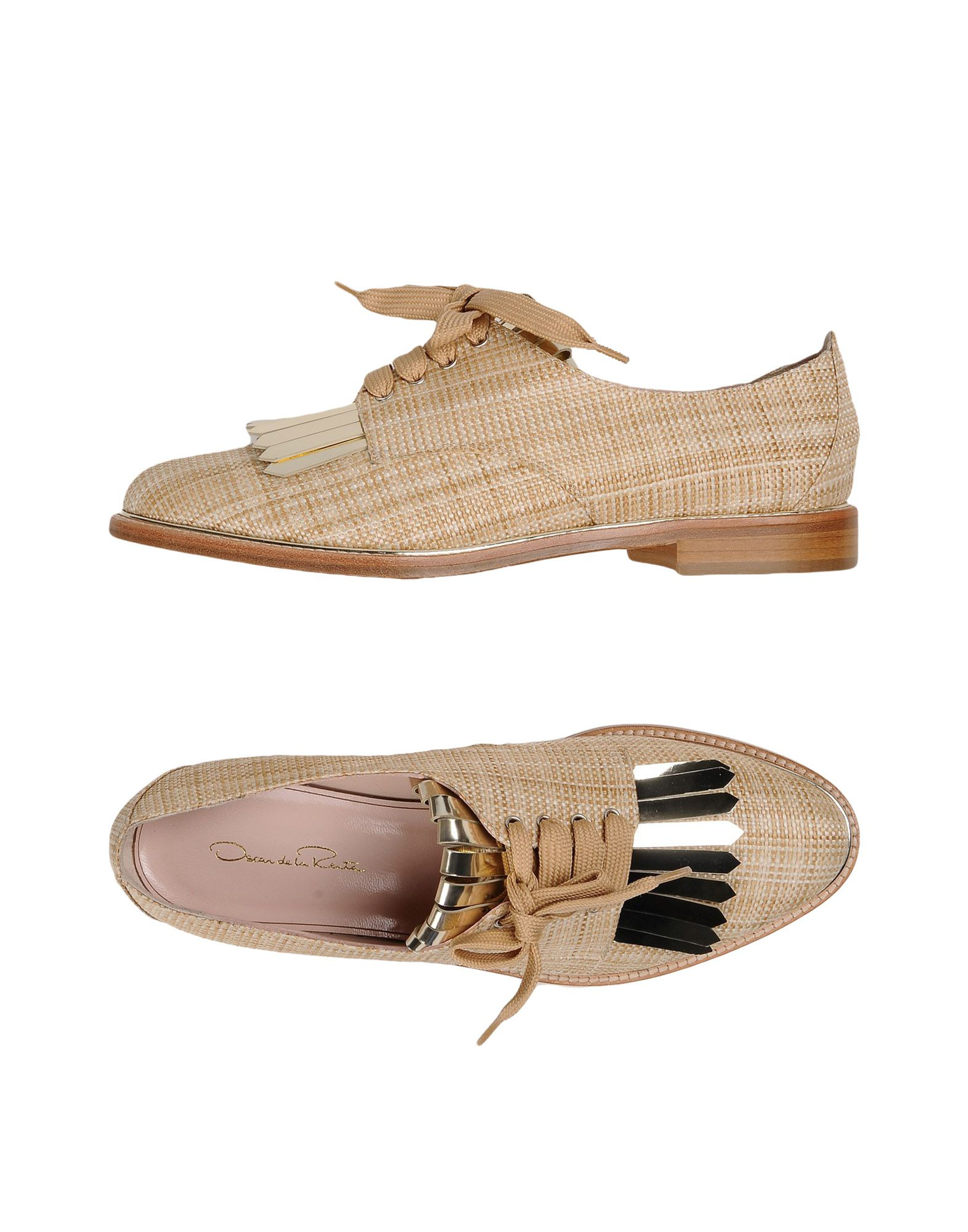 oscar de la renta female oscar de la renta laceup shoes