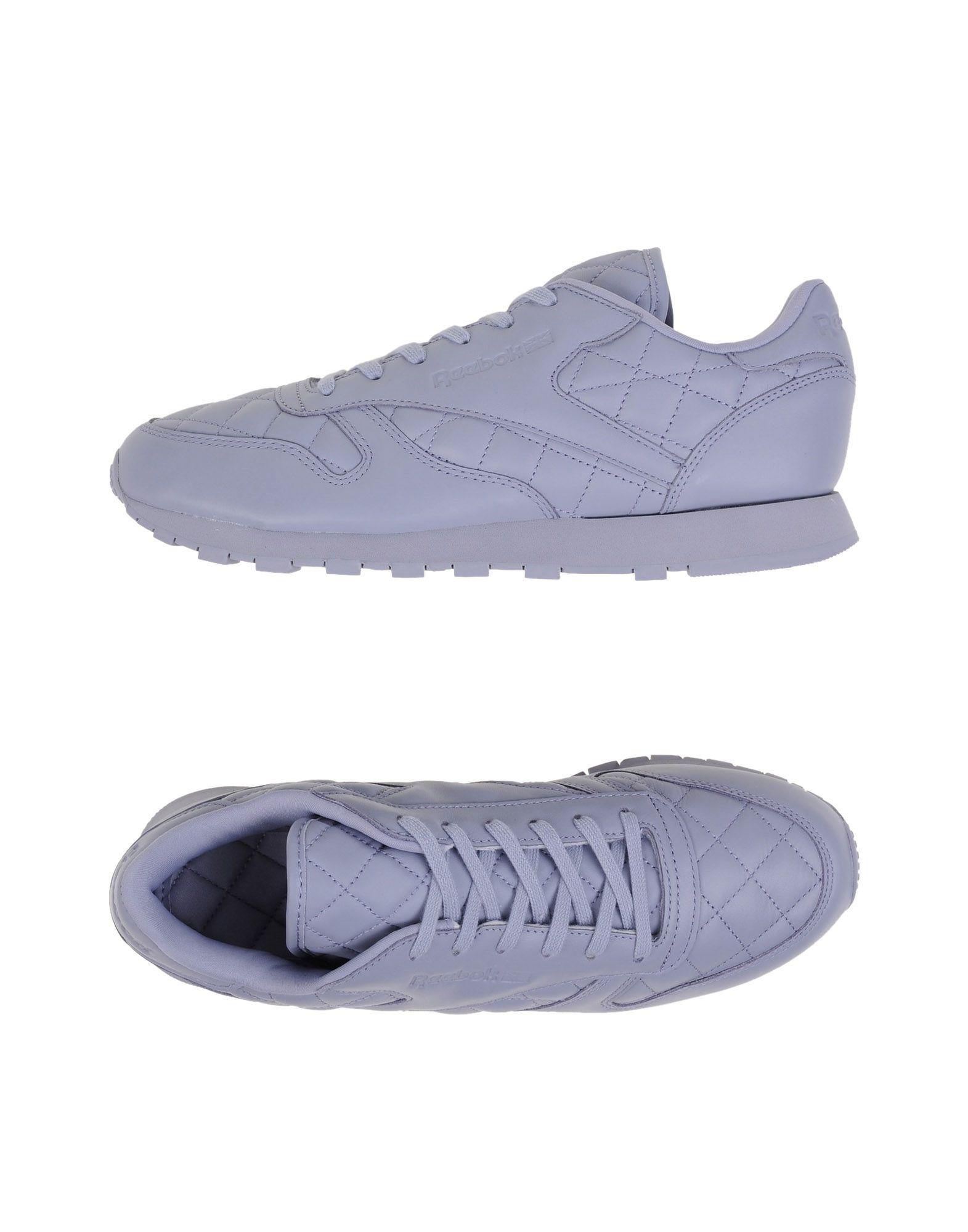 REEBOK Damen Low Sneakers & Tennisschuhe Farbe Lila Größe 5