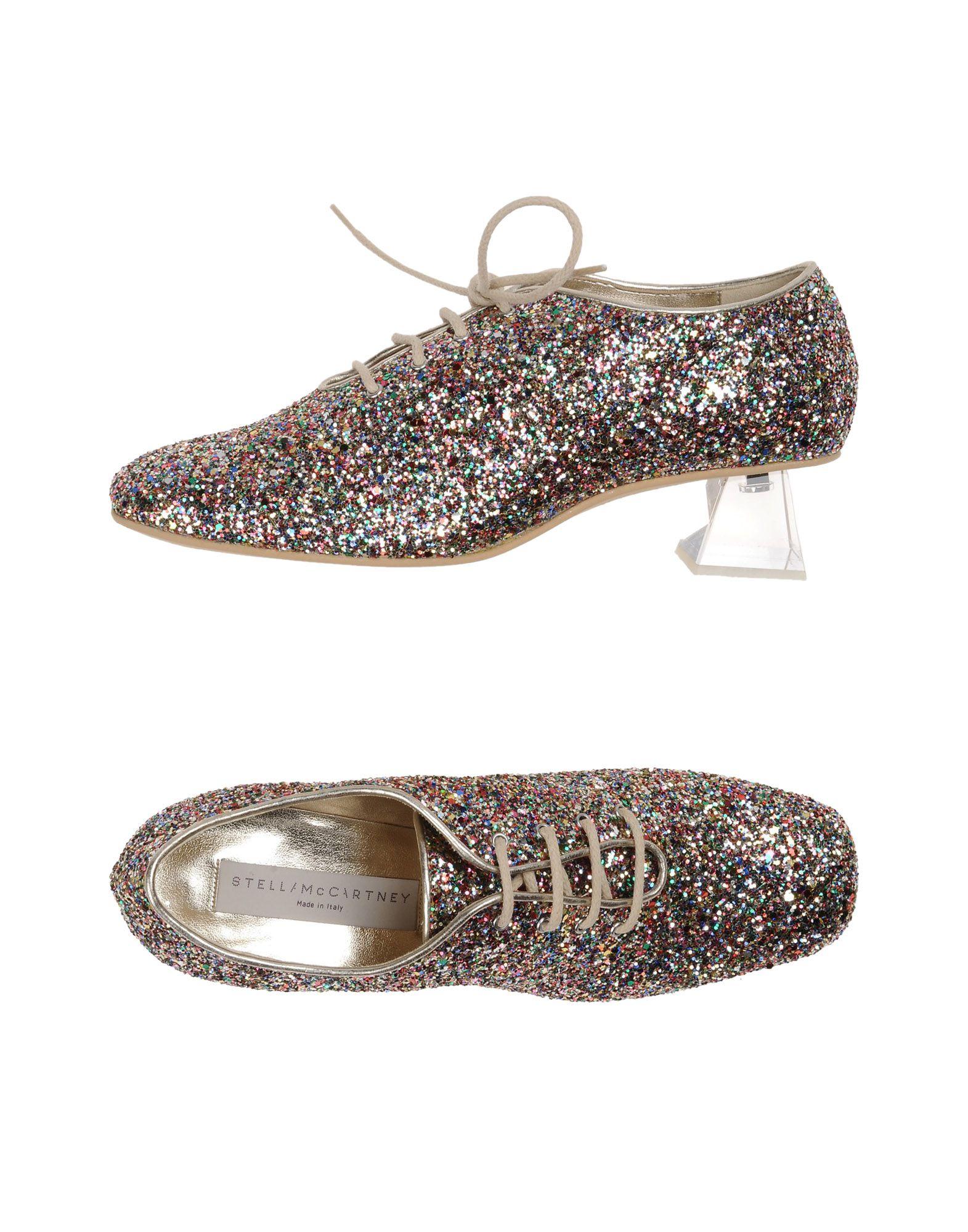 stella mccartney female stella mccartney laceup shoes
