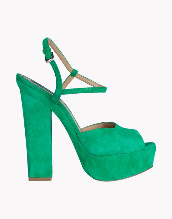suede platform ziggy sandals shoes Woman Dsquared2