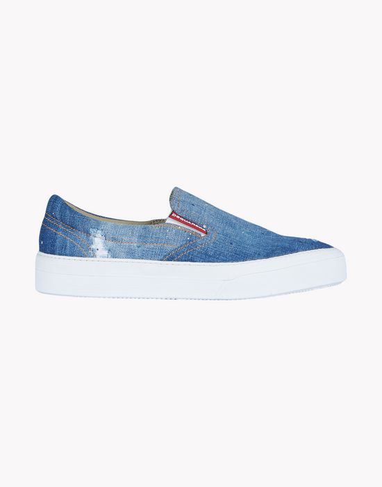 slip-on tender sneakers shoes Man Dsquared2