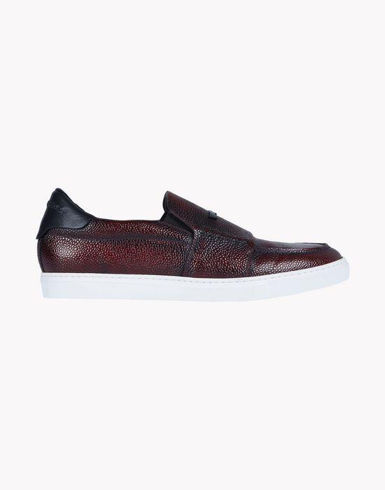 pebble-grain leather slip-ons shoes Man Dsquared2