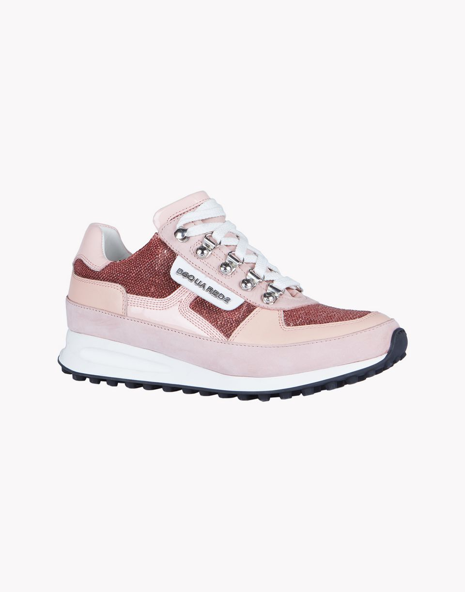 dean goes hiking sneakers shoes Woman Dsquared2