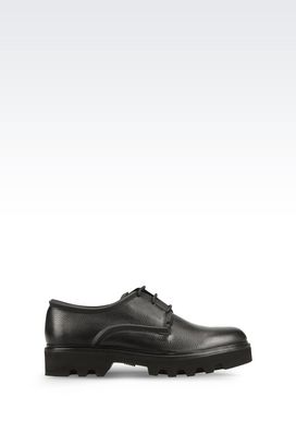 Armani Lace-up shoes Men runway derby in carioca calfskin