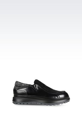 Armani Moccasins Men runway slip-on in calfskin