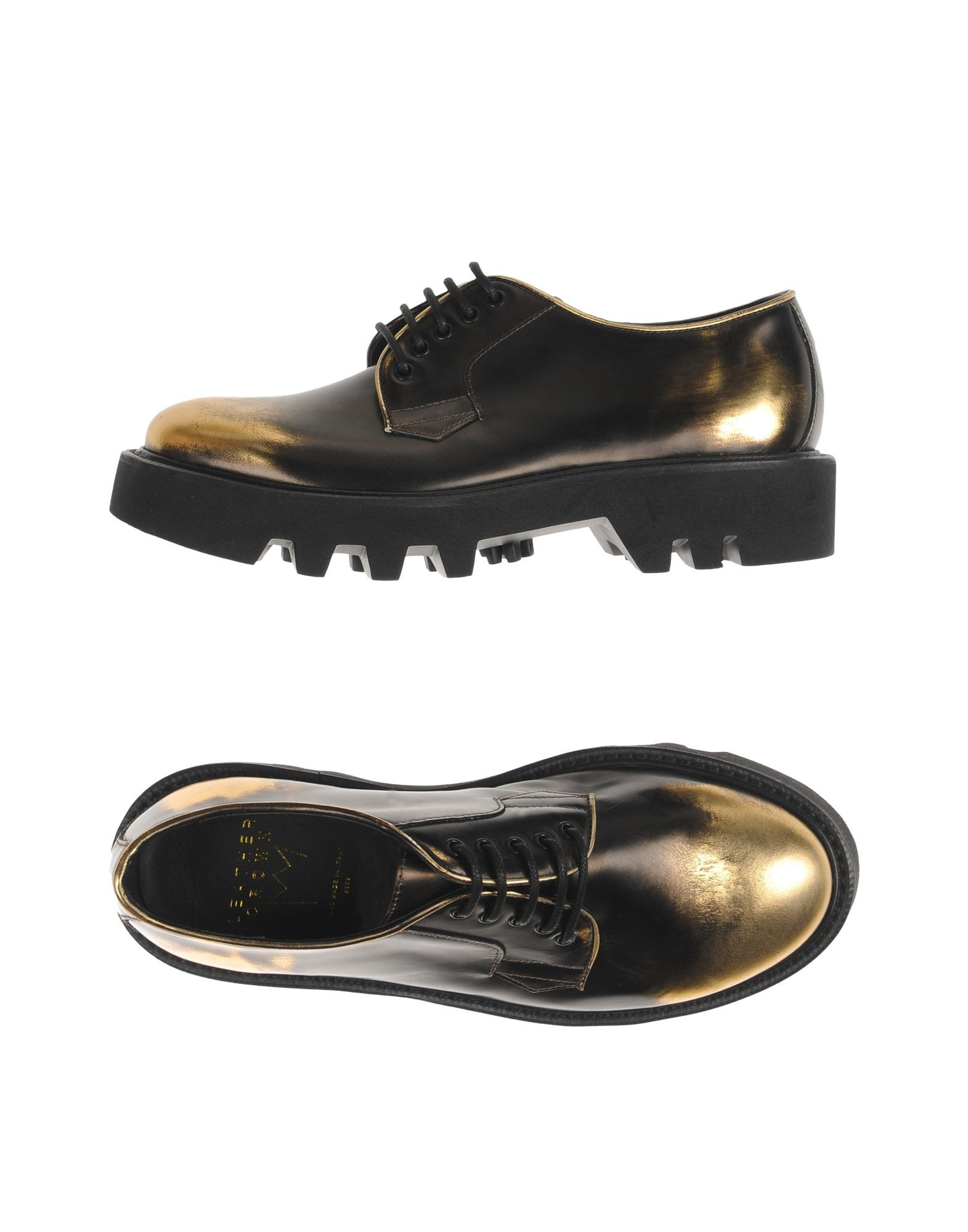 leather crown female leather crown laceup shoes