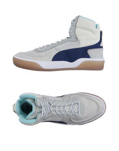 Высокие кеды и кроссовки ALEXANDER MCQUEEN PUMA 11155186BL