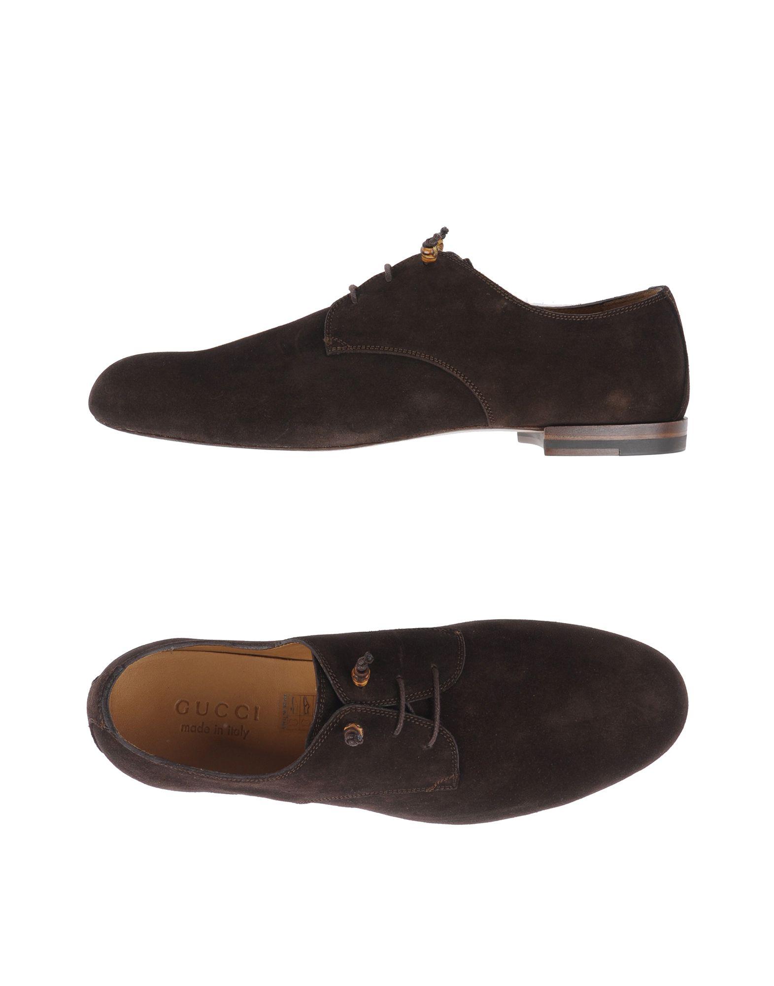 gucci male gucci laceup shoes