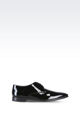 Armani Lace-up shoes Men patent leather lace-ups