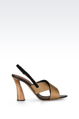 Armani High-heeled sandals Women slingback high heel sandal