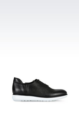 Armani Lace-up shoes Men leather sneakers