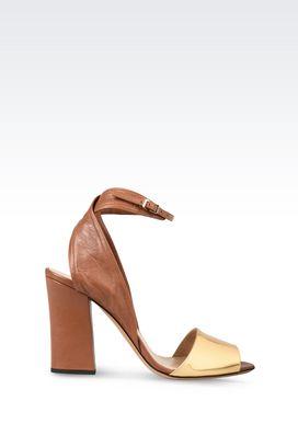 Armani High-heeled sandals Women shoes