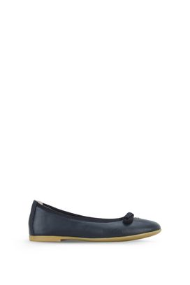 Armani Ballet flats Women leather ballet flats with bow