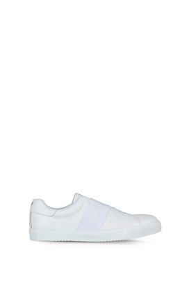 Armani Sneakers allacciate Uomo slip on in pelle