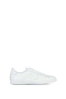 Armani Sneakers allacciate Uomo sneakers basse in pelle