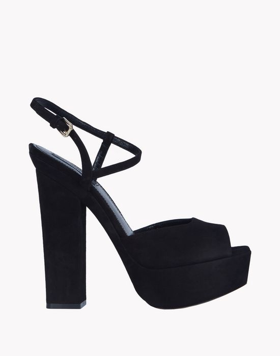 platform ziggy sandals shoes Woman Dsquared2